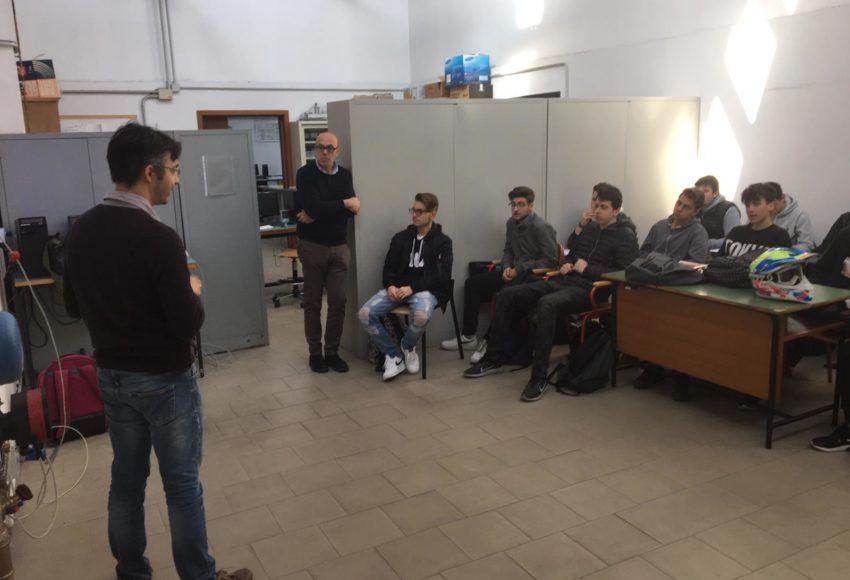 """Corso di termoregolazione e automazione scuola """"Istituto tecnico Corni"""" di Modena"""